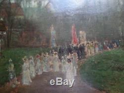Tableau Alfred De Knyff Ecole Belge Barbizon