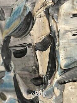 Tableau Huile Sur Bois André MISSANT (1908-1977) Jongleur Venise Beaux-arts