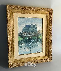 Tableau / Peinture / Huile Sur Panneau De Guy Legendre Tres Bien Encadrée