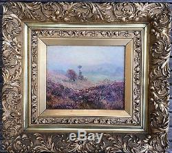 Tableau impressionniste-Vallée de la Creuse-Crozant-Wynford DEWHURST-Monogramme